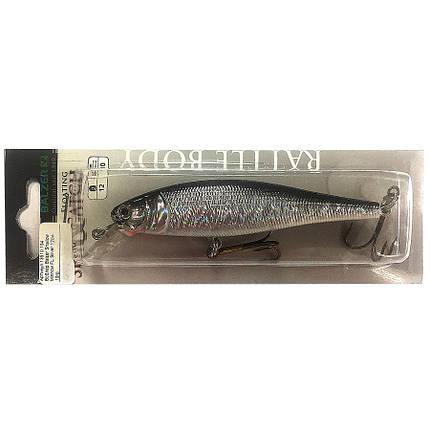 Воблер Balzer Shallow Minnow FL Silver 12 см 10 г, фото 2