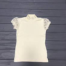 Блуза школьная для девочек оптом р.116-140-152