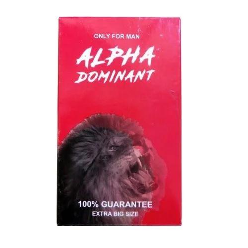 Alpha Dominant гель для збільшення члена (7*10 мл)