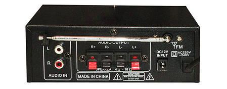 Усилитель звука Amp 606 BT, фото 2
