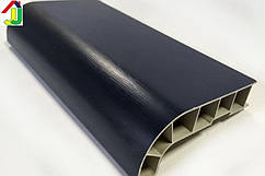 Подоконник Sauberg (Ламинация) Антрацит Матовый 350 мм влагостойкий, термостойкий, для окон