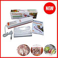 Вакуумный упаковщик Freshpack Pro QH-01 вакууматор ручной продуктов, Бытовые вакуумные упаковщики