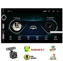 Автомагнітола 2DIN A707 ANDROID 8.1 , GPS, BLUETOOTH, WI-FI, USB