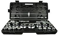 """Набір головок 26 одиниць GEKO G10115 (21-65 мм) 6-гр. 3/4"""", фото 1"""