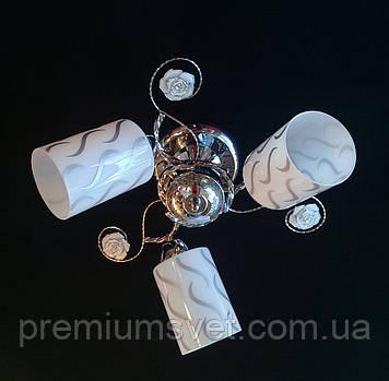 Потолочная люстра в золоте 9049/3 Л