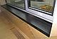 Підвіконня Sauberg (Ламінація) Антрацит Матовий 600 мм вологостійкий, термостійкий, для вікон, фото 3