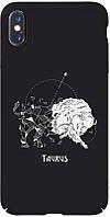Чехол-накладка TOTO Full PC Print Case Apple iPhone XS Max #172_Taurus Black #I/S