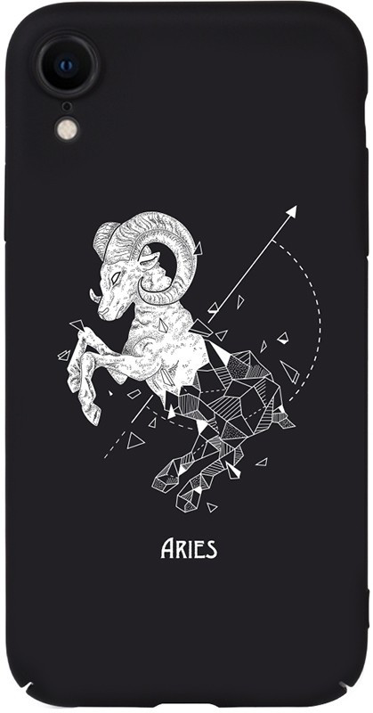 Чехол-накладка TOTO Full PC Print Case Apple iPhone XR #168_Aries Black #I/S