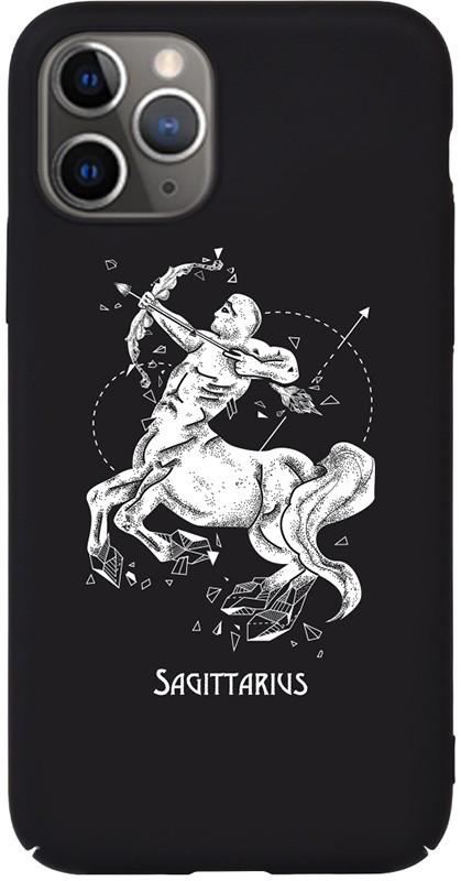 Чехол-накладка TOTO Full PC Print Case Apple iPhone 11 #171_Sagittarius Black #I/S