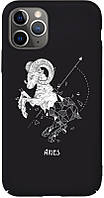 Чехол-накладка TOTO Full PC Print Case Apple iPhone 11 #168_Aries Black #I/S