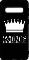 Чехол-накладка TOTO Cartoon Soft Silicone TPU Case Samsung Galaxy S10 King Black #I/S