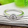 Серебряное кольцо Вечное очарование вес 2.95 г размер 17.5, фото 5