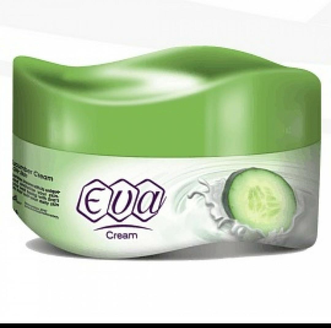 Крем Eva  для лица с йогуртом и огурцом увлажняющий.175 гр.