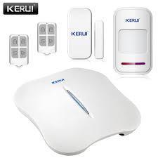 Сигнализация с интеллектуальным управлением Kerui KR-W10