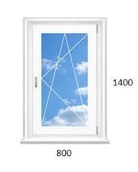 Окно металопластиковое Steko (800 х 1150) ДОСТАВКА ПО УКРАИНЕ БЕСПЛАТНО!