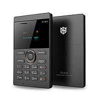 Микро Мобильный телефон-кредитная карточка IFCANE F1 Акция! телефон кредитка