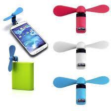Портативний micro USB Вентилятор для телефону або планшета. USB вентилятор вихід з USB-на-Micro USB