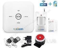 Сигнализация комплект сигнализации W10G  WiFi GSM