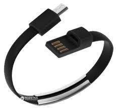 USB кабель usb шнур . Кабель-Браслет Micro USB