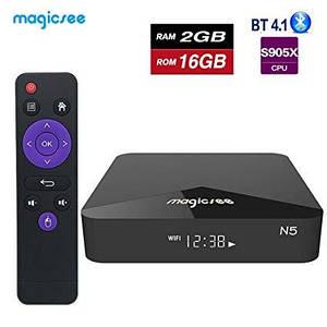 Смарт приставка Magicsee N5 Android 7.1. TV Box.Android SmartTV приставка.