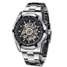 Чоловічий механічний годинник Winner Timi Skeleton Automatic Sport