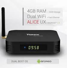 Приставка TANIX TX6 4GB/32GB ANDROID 9.0