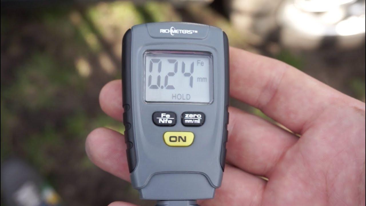 Електронний товщиномір покриттів Richmeters RM 660 / Товщиномір RM660 Fe/NFe тестер фарби
