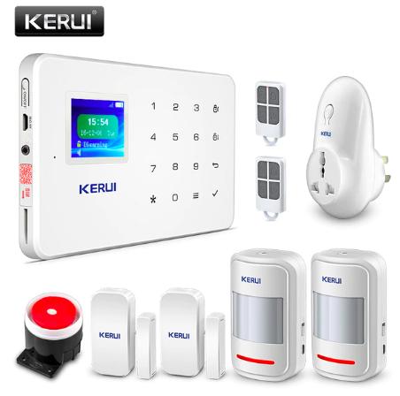 Комплект сигнализации Kerui alarm G18 plus с умной радиорозеткой! Гарантия 24 месяца!