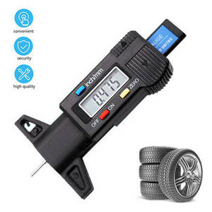 Цифровой толщиномер измеритель глубины протектора шин (комлпетк стандарт)