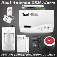 Охранная сигнализация Kerui G12A GSM! металлически брелки! новая версия прошивки 2020 - на 50 % быстрее!