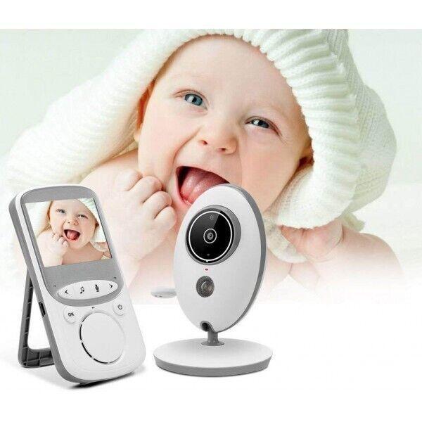 Беспроводная цифровая видеоняня (радионяня) VB605 с режимом ночного видения и термометром! няня