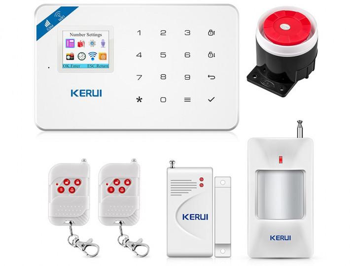 Сигнализация Kerui WiFi W18 Беспроводная KIT 1! Гарантия 24 месяца!