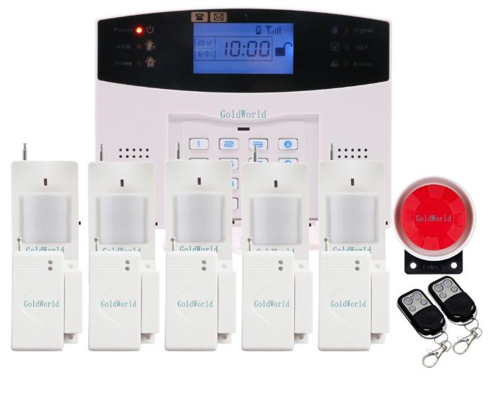 Повний комплект бездротової GSM сигналізації Kerui PG500 / B2G / GSM30А (комплект 4 econome home)! Гарантія