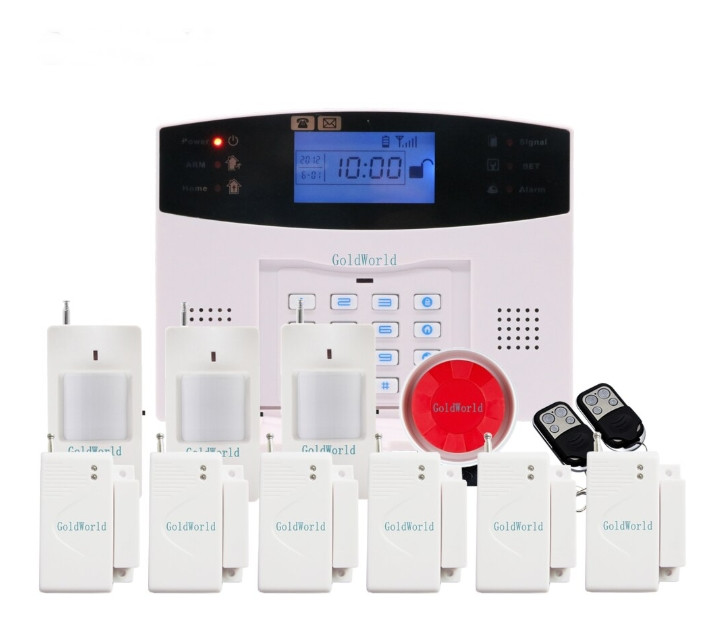 Повний комплект бездротової GSM сигналізації Kerui PG500 / B2G / GSM30А (комплект 3 econom standart home)!