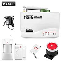 Охранная сигнализация для дачи, гаража, подвала Kerui G11Z GSM . Гарантия 24 месяца