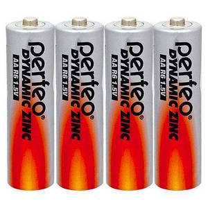 Батарейка АА Perfeo R-6 (комплект) качественные батарейки для металоискателей