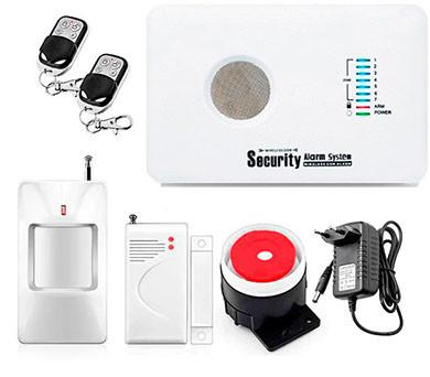 GSM охранная сигнализация Kerui G12  + морозоустройчиовать (улучшенная версия 2021 года)! Гарантия 24 месяца!
