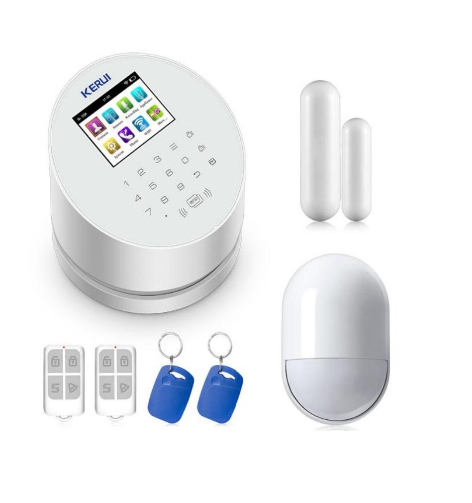 Комплект сигнализации Kerui alarm W2 с Wi-Fi и сиреной! Гарантия 24 месяца!