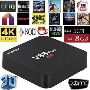 Приставка V88 Plus 2GB RAM / 16GB ROM смарт тв