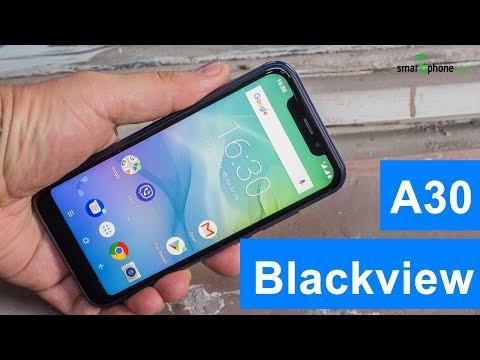 Смартфон Blackview A30 в золотом цвете 2/16Gb. Телефон