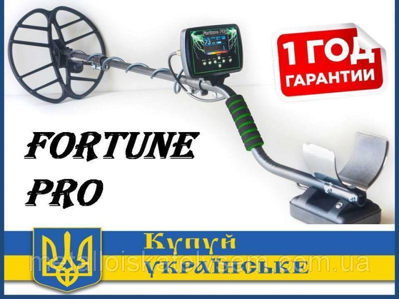 Новинка! Металошукач Fortune PRO / Фортуна ПРО FM трансмітер OLED-дисплей 6*4