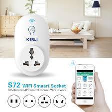 Розумний будинок (розумна розетка WiFi KR-S72) 231309