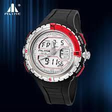 Спортивные водонепроницаемые мужские часы alike 231330
