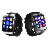 Смарт годинник Розумні годинник Smart Watch Q18 чорного кольору+ коробка. Smart Watch Q18 Black 231341