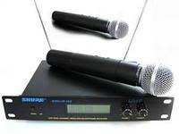 Микрофоны SHURE SM58-2 радіосистема