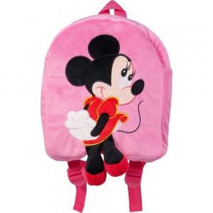 Рюкзак детский Микки Минни Маус розовый 35 см