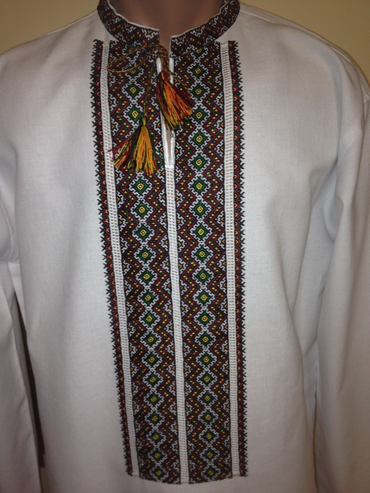 Оригінальна чоловіча вишита сорочка ручної роботи  продажа 1b468b59bc330