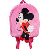 Рюкзак детский Микки Минни Маус розовый 35 см, фото 2