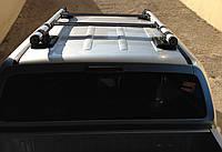 Рейлинги на крышу для Volkswagen Amarok (Оригинальные с поперечинами)