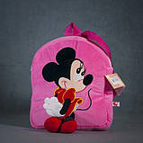 Рюкзак детский Stip Минни Маус розовый 35 см, фото 3